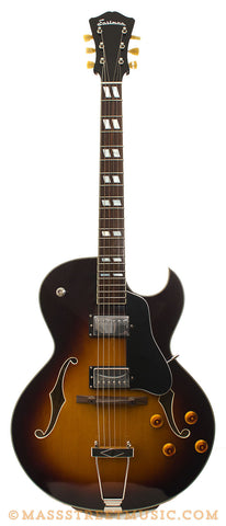 Eastman AR372CE SB Archtop - front