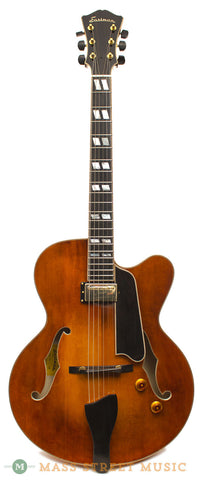 Eastman AR580CE-HB Used Archtop - front