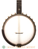 "Ome Custom Alpha 12"" Open-Back Banjo - front close"