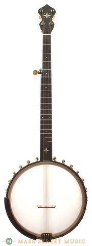 "Ome Custom Alpha 12"" Open-Back Banjo - front"