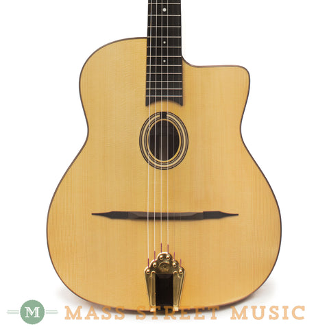 Altamira 2015 M20 Gypsy Jazz Guitar - front close
