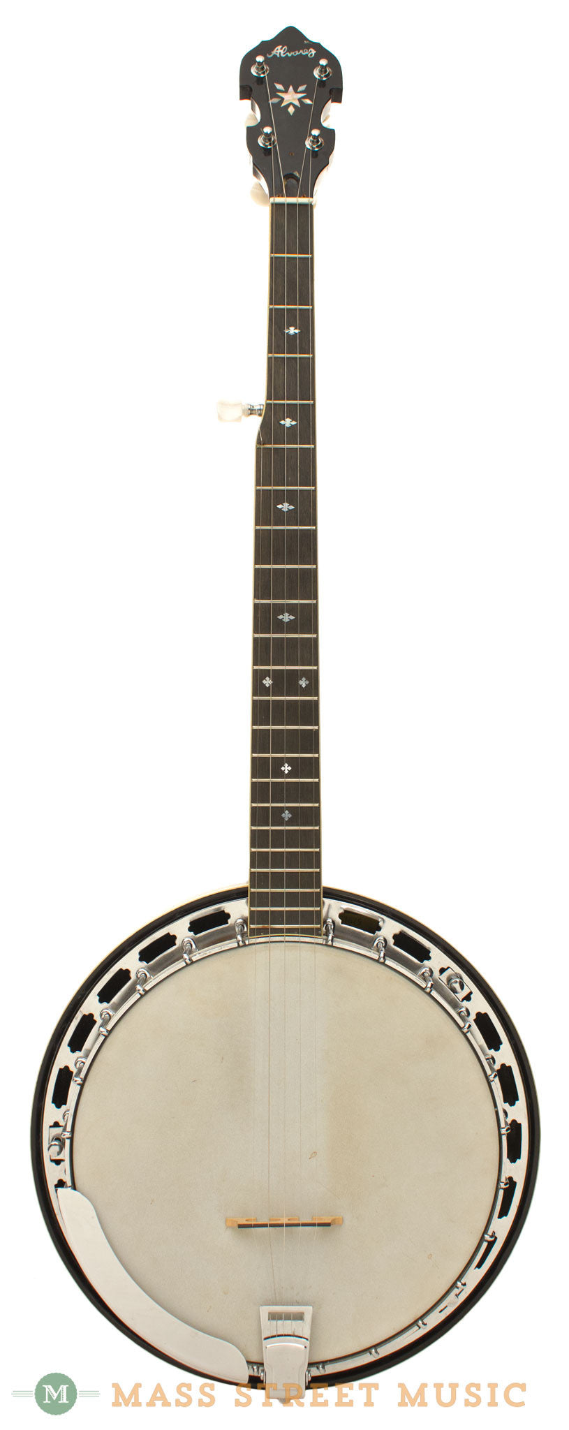 Banjo with chubby parkers autograph