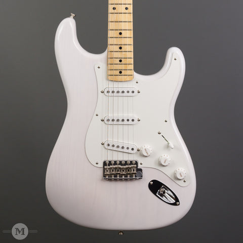 Fender Electric Guitars - American Original 50's Stratocaster - White Blonde
