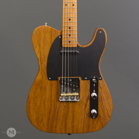 Fender - American Vintage '52 Telecaster - Roasted - Front Close