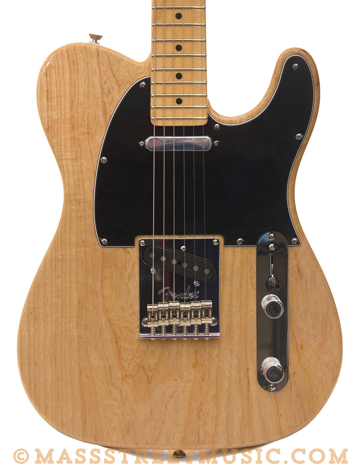 fender american standard telecaster natural finish electric guitar mass street music store. Black Bedroom Furniture Sets. Home Design Ideas