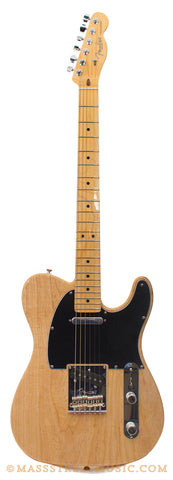 Fender American Standard Tele Natural Electric Guitar - front