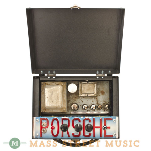 "Analog Outfitters ""Porsche"" Sarge Amp Head - open"