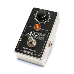 Spaceman Effects - Atlas Preamp Booster Silver Edition