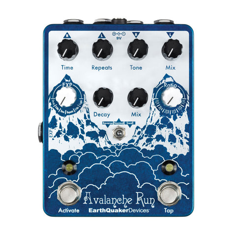 EarthQuaker Devices - Avalanche Run Stereo Delay and Reverb
