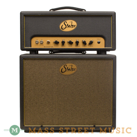 Suhr Badger 35 Head and Cab - Front