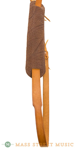 Leather Aces Banjo Cradle Strap - shoulder pad