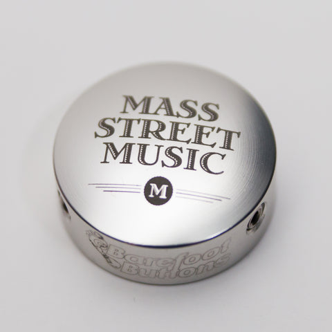 Barefoot Buttons V1 - MSM Logo Silver