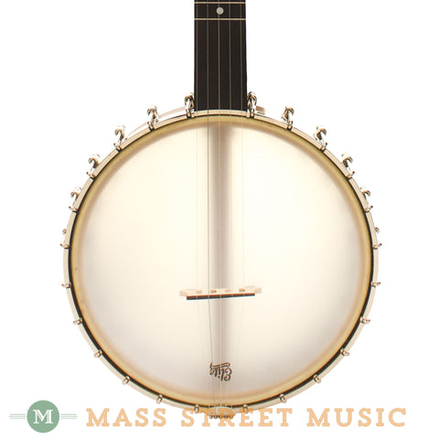 Bart Reiter Buckbee Open-Back Banjo - front close