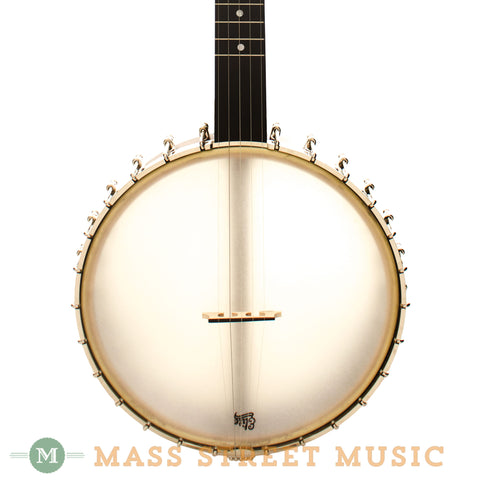Bart Reiter Round Peak Open-Back Banjo - front close