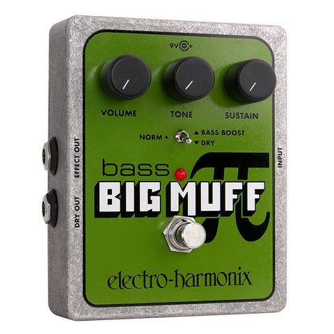 Electro-Harmonix Effect Pedals - Bass Big Muff Pi
