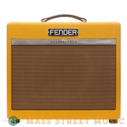 Fender Amps - Bassbreaker 15 Combo - Tweed
