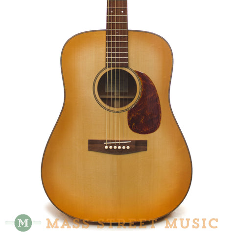 Bayard Dreadnought Acoustic Guitar - front close