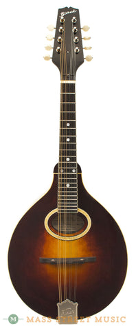 Mike Black A2 Mandolin with Virzi - front