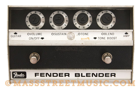 Fender Blender Fuzz Pedal Used - top