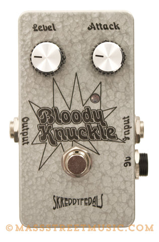 Skreddy Bloody Knuckle Germanium Fuzz Pedal - front