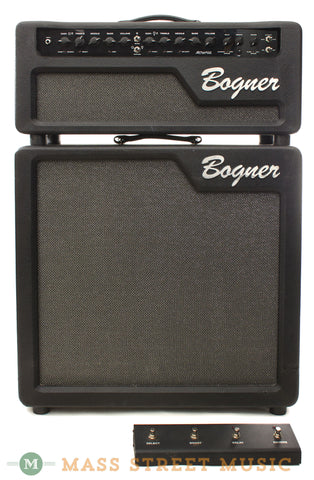 Bogner Alchemist Amp Head and Cabinet Combo Used - front