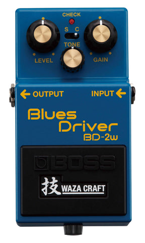 BOSS BD-2W Blues Driver Waza Overdrive Pedal