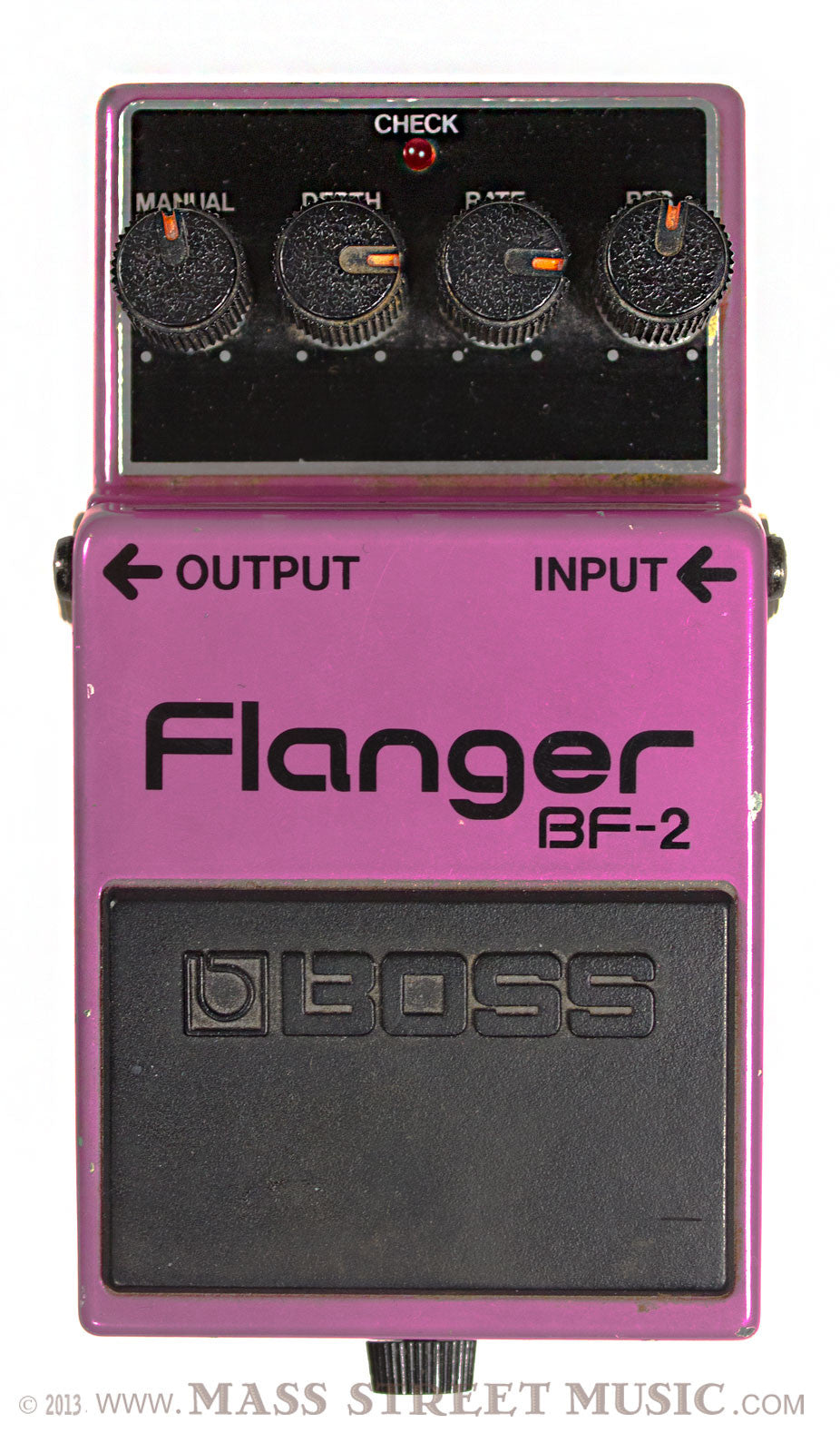 boss bf 2 flanger pedal mass street music store. Black Bedroom Furniture Sets. Home Design Ideas