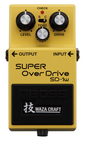 BOSS SD-1W Super Overdrive Waza Pedal