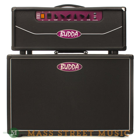 "Budda Superdrive 30 Series II Head and 2x12"" Cabinet - front"