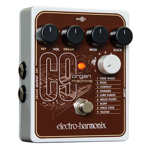 Electro-Harmonix Effect Pedals - C9 Organ Machine