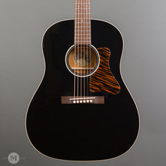 Collings Acoustic Guitars - CJ35 - Custom Jet Black Top - Front Close