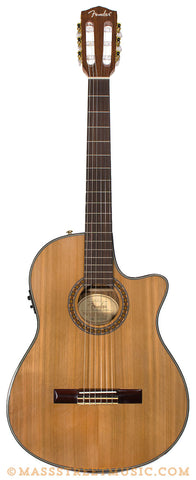 Fender CN240 SCE Classical Guitar - front