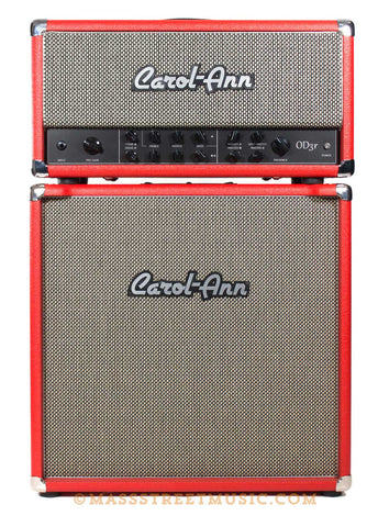 Carol Ann OD3r head and 1x12 cab red - front
