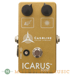 Caroline Icarus Boost Guitar Pedal - front