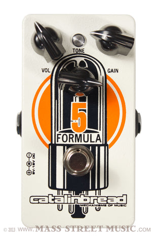 Catalinbread Formula No. 5 pedal - top