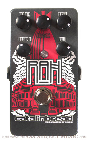 Catalinbread RAH pedal - top