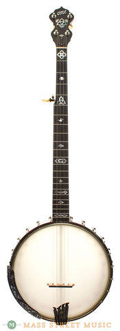 "Ome Celtic Quest 11"" Traditional Open-Back Banjo - front"