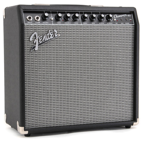 Fender Champion 40 Combo Amplifier - angle