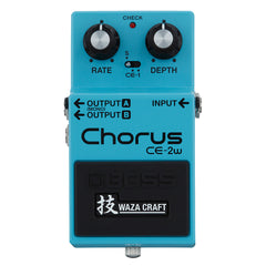 BOSS Effect Pedals - Chorus CE-2W - Front