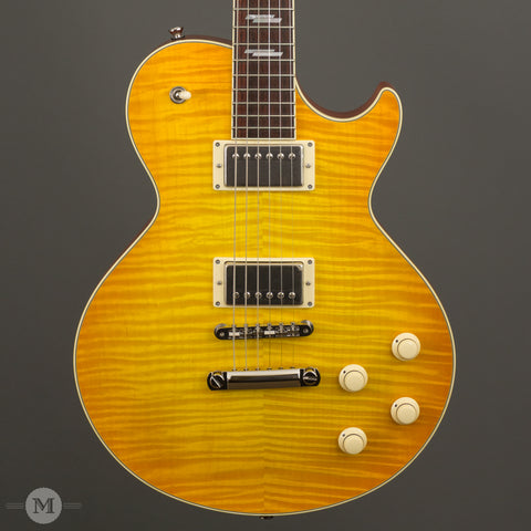 Collings Electric Guitars - City Limits Deluxe Lemon Burst - Front Close