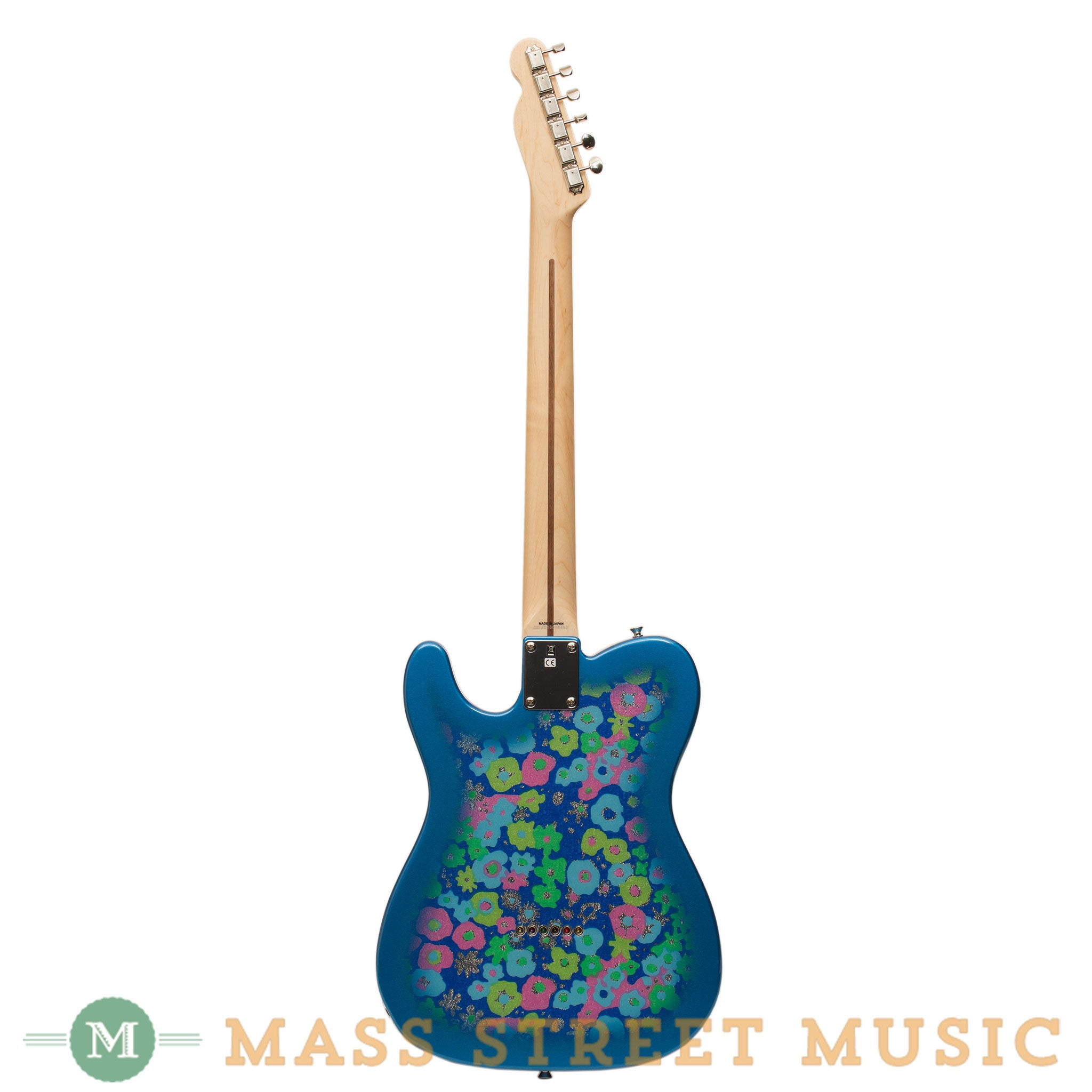 Fender electric guitars classic 69 telecaster blue flower fender electric guitars classic 69 telecaster blue flower back publicscrutiny Image collections