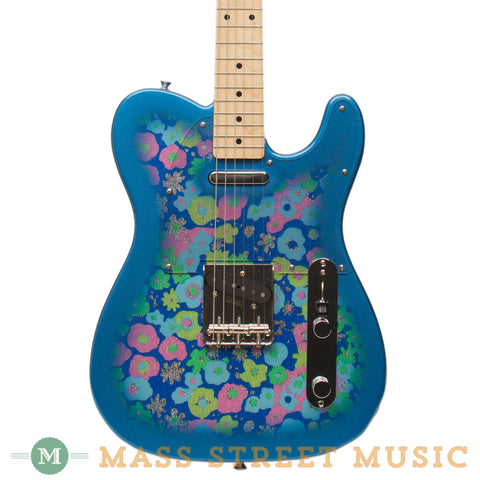 Fender Electric Guitars - Classic '69 Telecaster - Blue Flower - Front Close