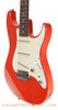 Tom Anderson Classic S Fiesta Red Electric Guitar - angle