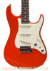 Tom Anderson Classic S Fiesta Red Electric Guitar - fron close up
