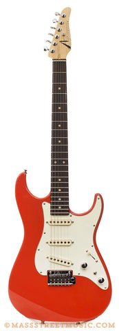 Tom Anderson - Classic S Fiesta Red Electric Guitar - front