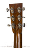 Collings OM2H MGR acoustic guitar - back headstock