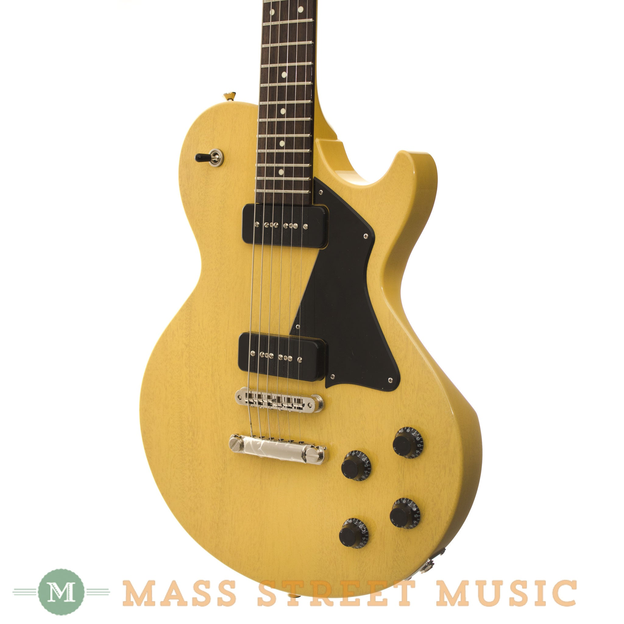 Collings Used 290 Tv Yellow With Original Hard Case Mass Street