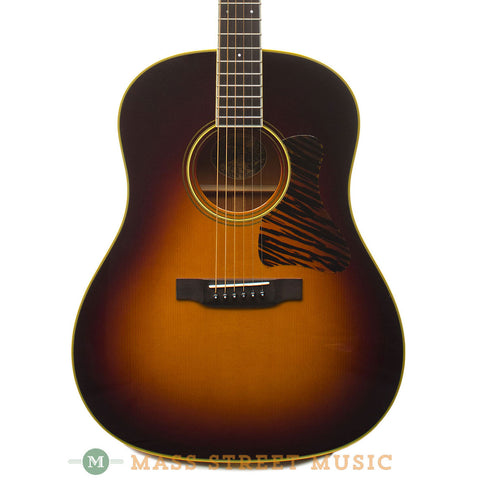 Collings 2008 CJ Mh A SS SB Varnish Custom Acoustic Guitar - front close