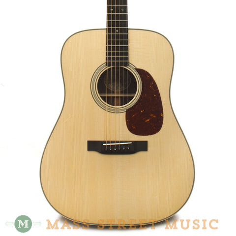 Collings D2G German Spruce Acoustic Guitar - front close up
