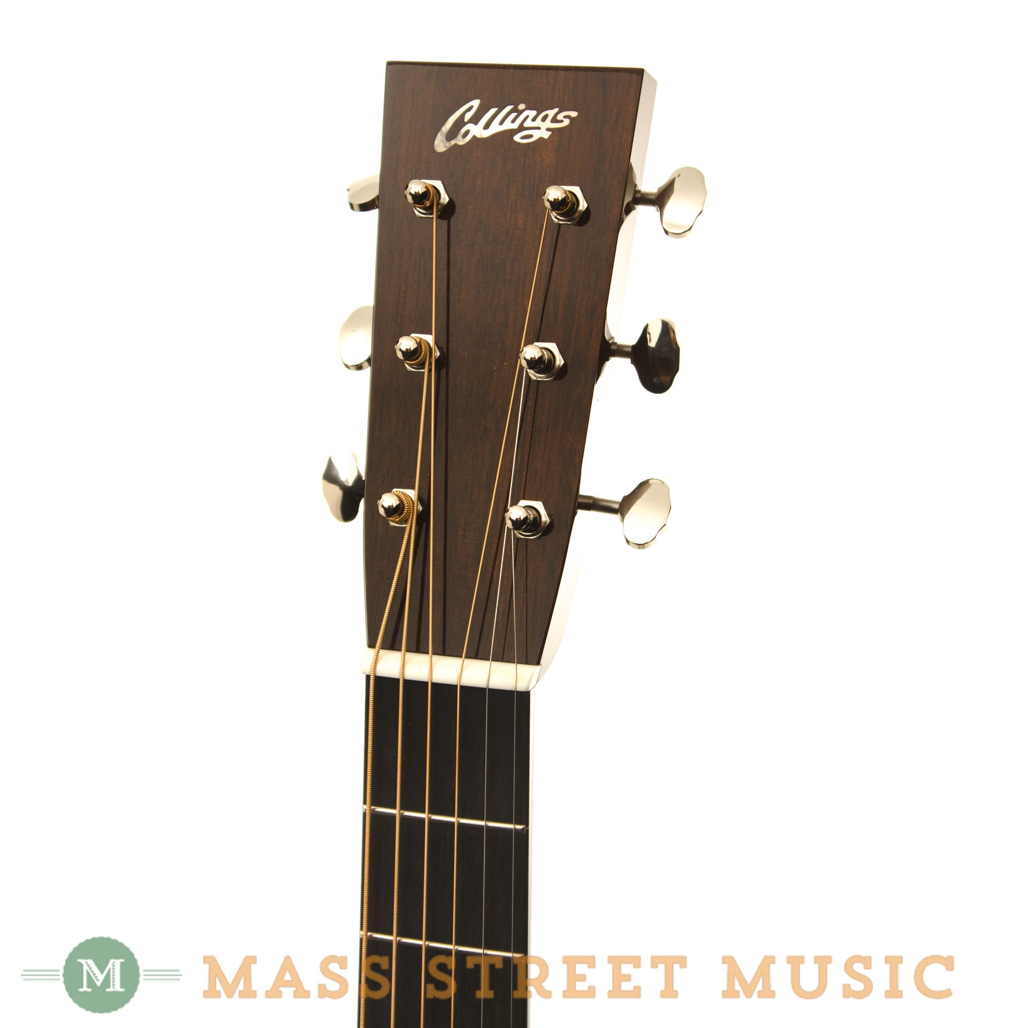 collings d2g german spruce acoustic guitar with case mass street music store. Black Bedroom Furniture Sets. Home Design Ideas